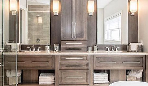 Installing A Vanity Bathroom Vanities Bath Installation Kitchen And The Edge How To Install