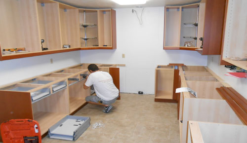 installation builder supply outlet kitchen cabinets how to rh buildersupplyoutlet com diy install kitchen base cabinets diy install kitchen base cabinets